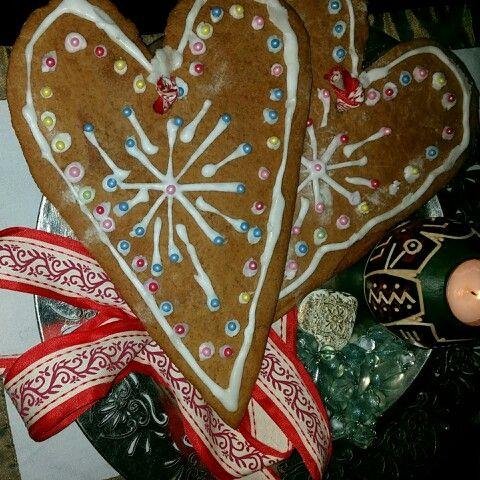 Mis corazones de navidad