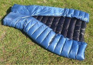 Ultralight Sleeping Bag | ZPacks | Lightweight Sleeping Bag