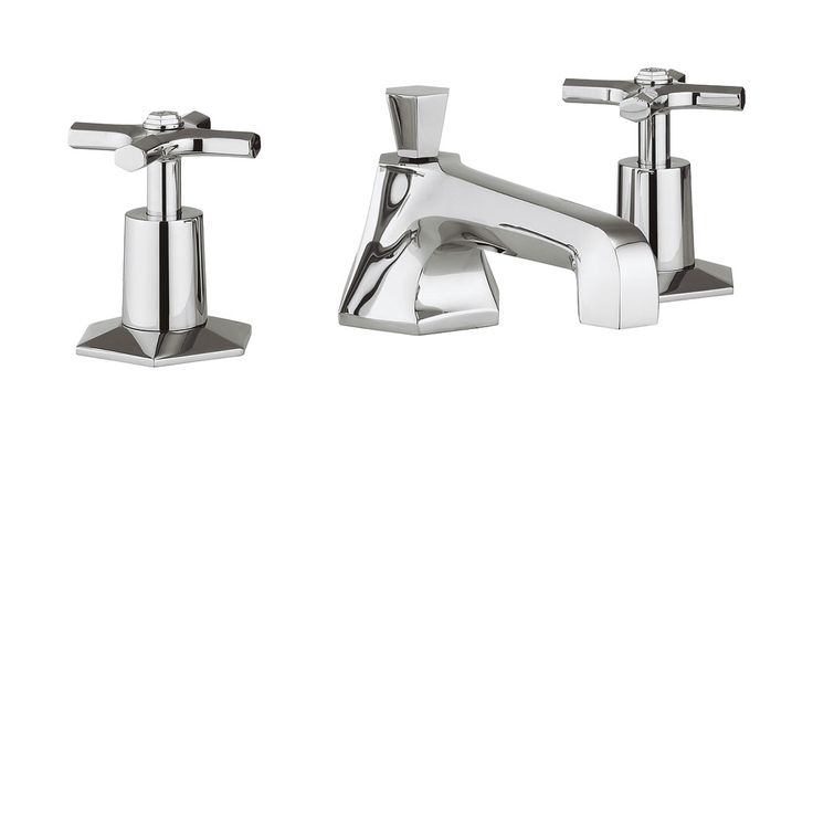 Waldorf Chrome Crosshead basin 3 hole set in Waldorf Crosshead | Luxury bathrooms UK, Crosswater Holdings