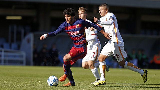 FC Barcelona v AS Roma (U19): Victory denied by bad luck (3-3)