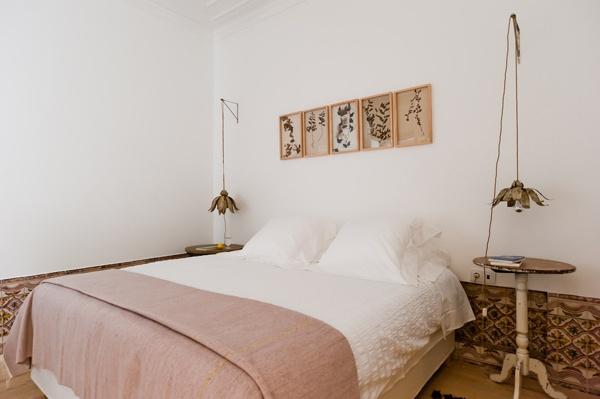 Bedroom of Alorna apartment, Baixa House    www.baixahouse.com