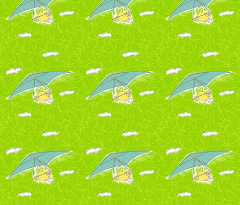 FlyBabyOwl fabric by edrouga on Spoonflower - custom fabric