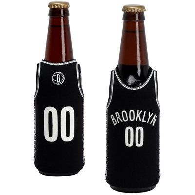 Brooklyn Nets bottle koozie