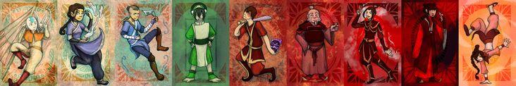 Avatar characters by NireLeetsac.deviantart.com on @DeviantArt