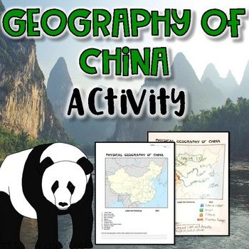 This is an EASY to use activity in examining the geography of China. This activity includes a map activity wksht, with answer key, that details the major geographical components of China. Also included, a video clip to compliment your lesson. ENJOY! ♥♥Interested in saving a some $$$?