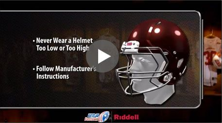 It is essential that every player has a properly fitted helmet and shoulder pads. Heads Up Football | Youth Football | USA Football | Football's National Governing Body