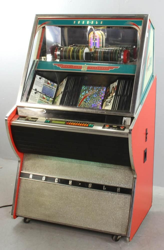 Rock-ola 100-CD Player Jukebox Lot 4354 (eBay Link) | Arcade