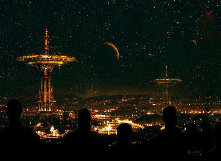 Varga Csaba Béla | Hetedíziglen |Future Budapest concept by misi006 | #budapest #scifi