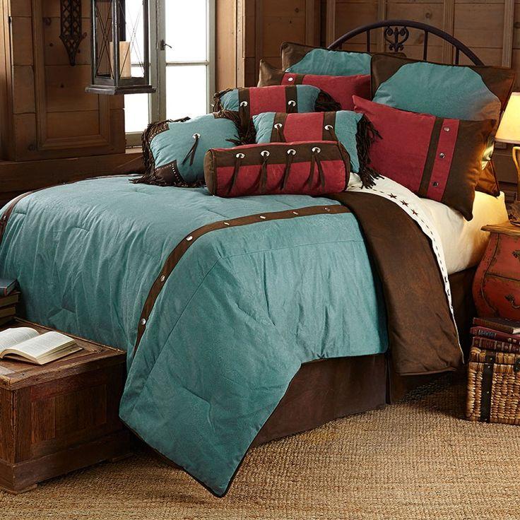 western bedroom decor bedding sets southwestern discount comforter king