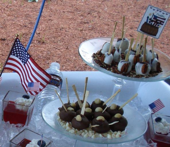 cute july 4th desserts