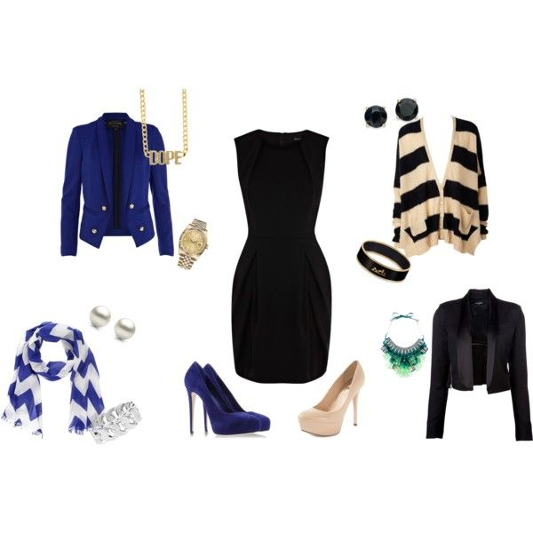 Business trip? Need to pack light? A LBD, 2 pairs of shoes, and a few light weight accessories are all you need! (And any of these would look great with a t-shirt and jeans for after business hours!)