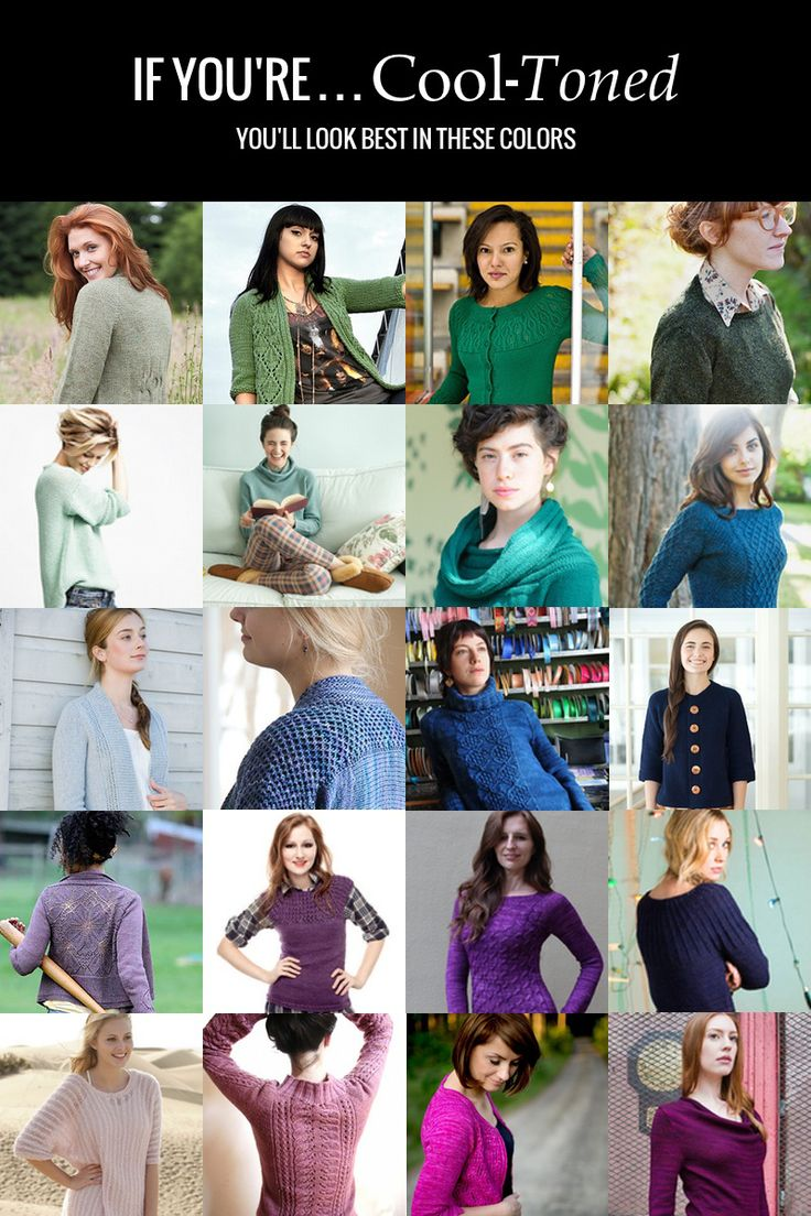 Colors for Your Skin Tone: The Ultimate Guide to Color Theory For Sweater Knitters Part 4 - 30 DAY SWEATER