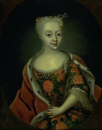 Princess Louise as a child