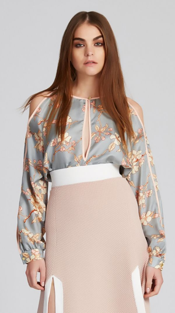 Alice McCALL - These Dreams Of You Blouse - Royal Blossom