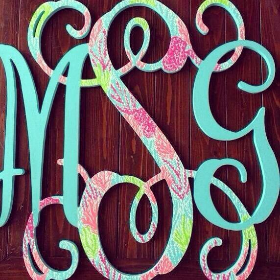 Multicolor monograms