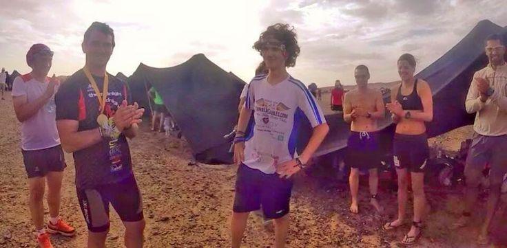 Manuel Olmo: Maraton de Sables 2015