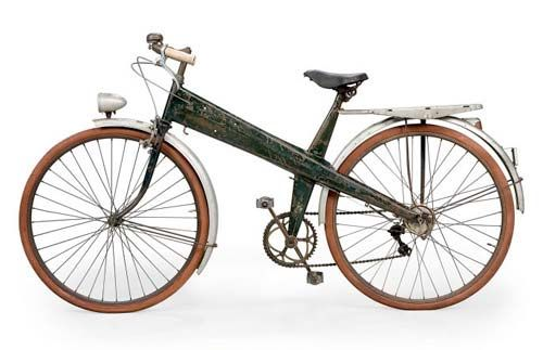 Bicycle, Manufactured by Les Ateliers Jean Prouvé, France, c.1941