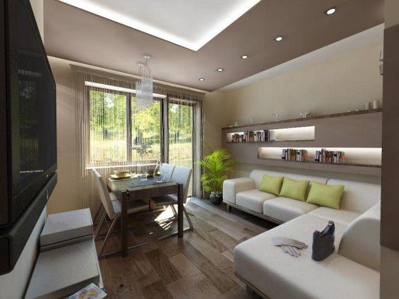 Małe mieszkanie w bloku