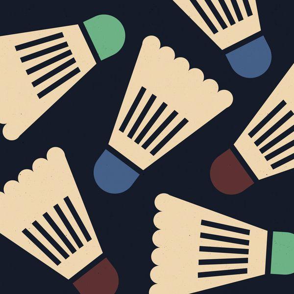 Badminton Birdie by Anna Kovecses, via Behance
