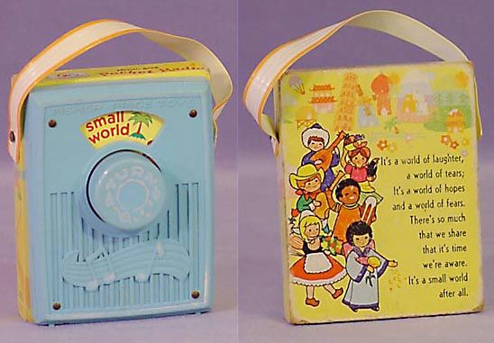 Fischer Price pocket radio (so cute)