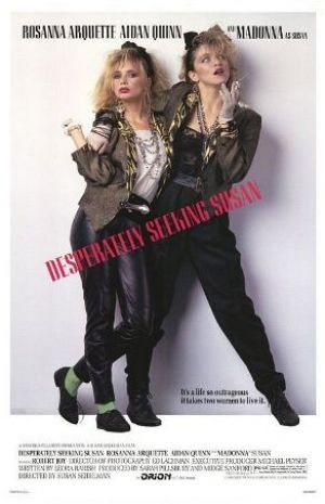 Films with fashion influence - 1985 Desperately Seeking Susan poster