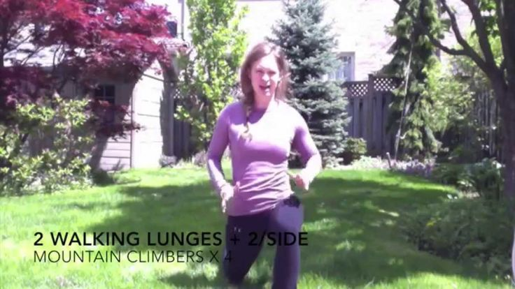 This video is the third instalment of my Fast Fit Fun Friday Full Body Workout series. Again, this is a body weight only high intensity interval training (HIIT) workout designed to get you strong, and lean. It features: Walking lunges Mountain climbers: https://youtu.be/yx-K2ZAfOwQ Pushup to side plank: https://youtu.be/3qXsLlbNdAw and jumping jacks  Check out my Facebook page: Personal Training with Stephanie Thompson