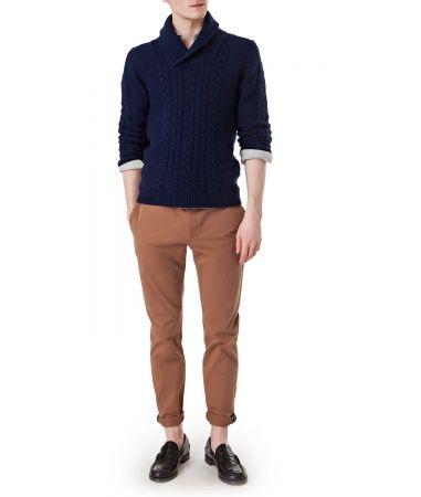 Gary Shawl Collar Sweater