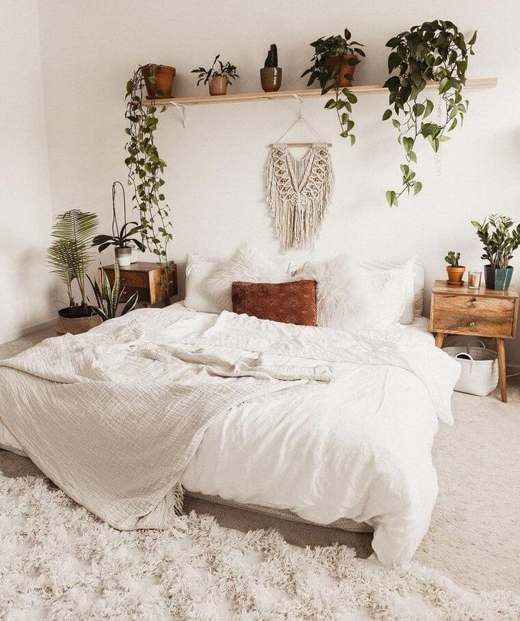 Bohemian Bedroom Decor Boho Bohemian Bedroom Decor In 2020 Bedroom Inspirations Aesthetic Bedroom Room Makeover