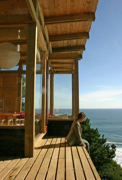 Wooden House On The Cliff | WooHome