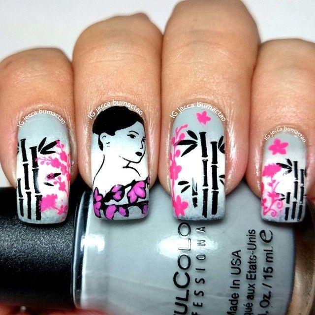 17 best images about nail art on pinterest nail art decoupage and three wise men - Diva nails and beauty ...