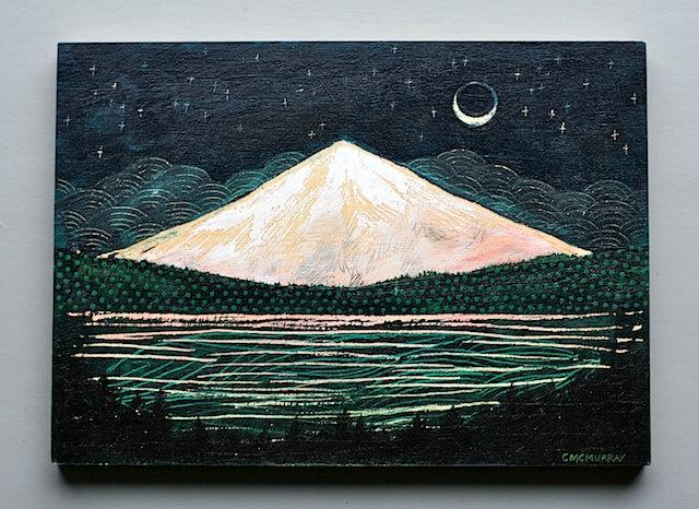 mountain glow, 5 x 7 original. 72.00 dollars, via Etsy. by Cathy McMurray: Mountain Glow, Glow Originals, Art Design, Art Ideas, Artsy Fartsi, Cathy Mcmurray, Etsy Art, Beautiful Art, Art Projects