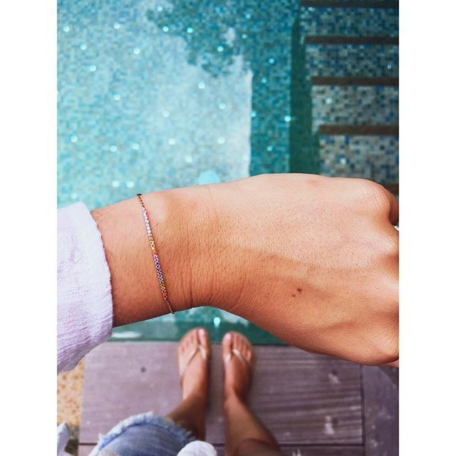 Colors on your wrist #imaginjewels @aureliekint
