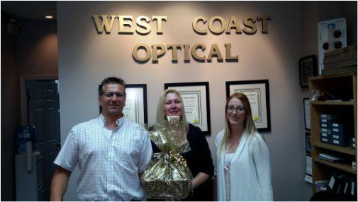 Crownsmen Partners delivered a Golden Basket to West Coast Optical and asked us to send one to Surlang Medical.  - See more at: http://www.crownsmenpartners.com/golden-baskets#sthash.kRLb1hLo.dpuf