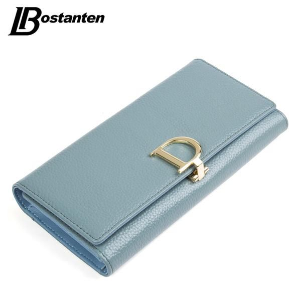 BOSTANTEN 2017 Genuine Leather Women Wallets Luxury Famous Brand Wallets for Women… #BlackFriday is coming early #BestPrice #CyberMonday