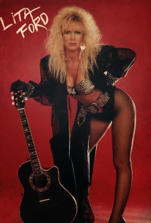 Lita Ford Lita Ford Lita Ford Women Of Rock 80s Rock