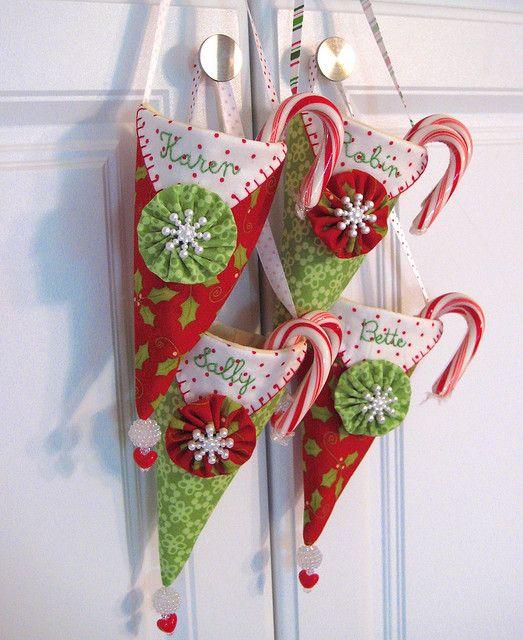 Christmas Pennie Pocket