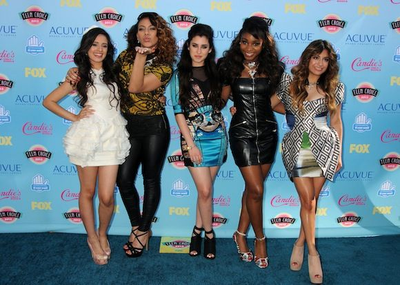 Fifth Harmony - Teen Choice Awards 2013 Red Carpet