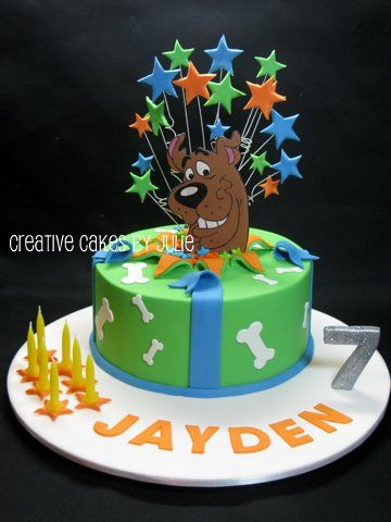 91 best Scooby doo cake images on Pinterest Scooby doo cake