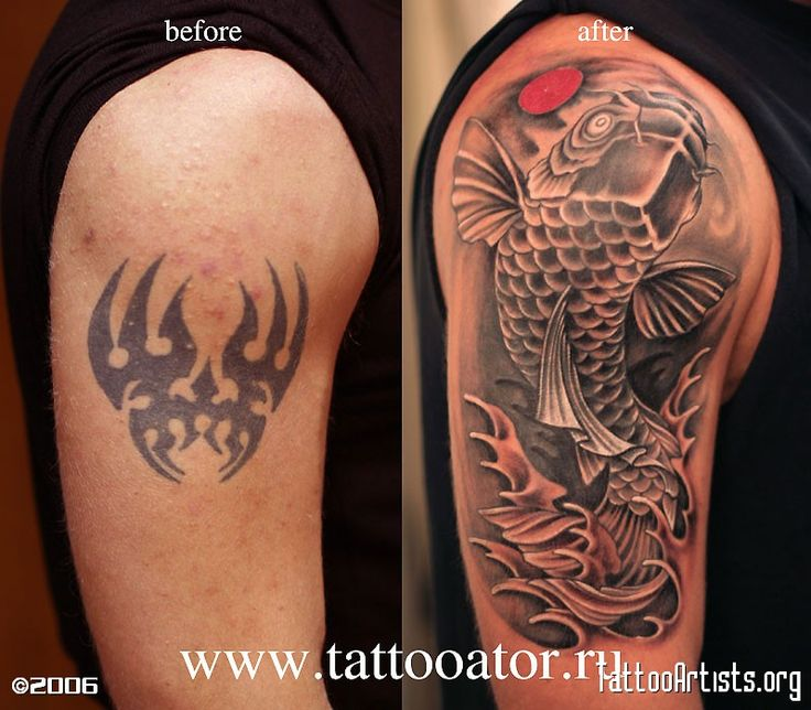 Large Black Tattoo Cover Up | cover up posted by yuri ...