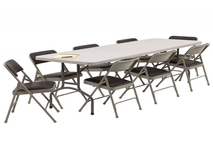 Furniture: Nice Folding Table And Chairs Big Lots Also Retro Folding Table  And Chairs From