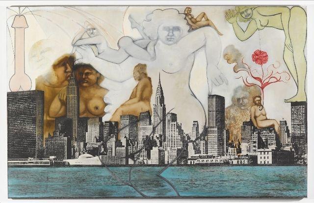 [NSFW] Erotische, feministische kunst krijgt een welverdiende tweede kans | The Creators Project