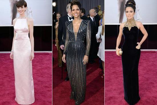 Платье голливудские звезды оскар