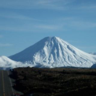Mt Rupehu, New Zealand