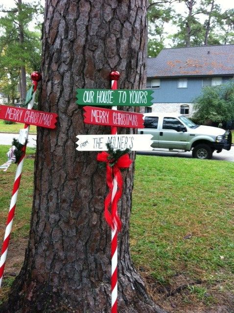 Etsy transaction personalized merry christmas north for Outdoor christmas signs