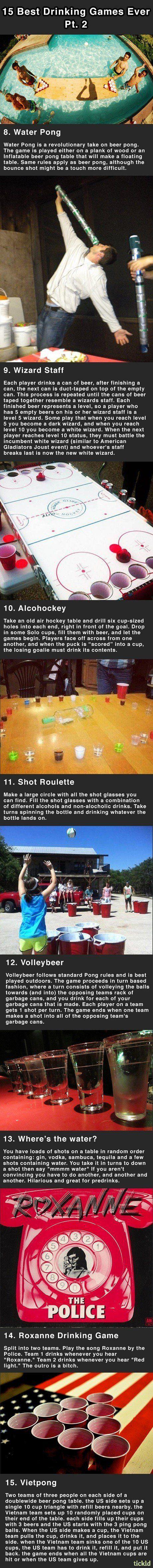 15 best drinking games part 2