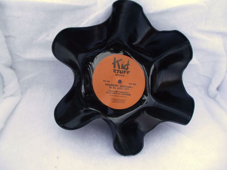 Record Bowls that are great for any party or home decorations Retro Modern Art Decor Geekery Knitting  Wedding Centerpiece  Holder by ourchildrensearth on Etsy https://www.etsy.com/listing/74380188/record-bowls-that-are-great-for-any