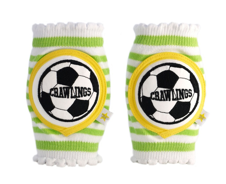 Cool! Knee pads for crawling babies (or playing kids)!: Kiwi Green, Soccer Knee, Soccer Players, Gifts Ideas, Knee Pads Body, Crawl Knee, Crawl Baby, Green Soccer, Crawl Soccer