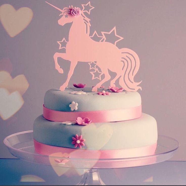 Magical Unicorn Cake Topper!