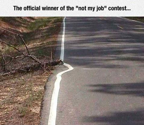 not my job mate #hell and #handcart come to mind