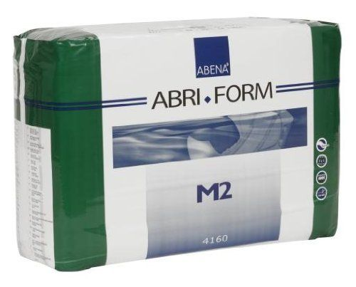 Abena Abri-Form Briefs, Super, Medium M2, Pack/24 by Abena. $34.49. The Abena Abri-Form fitted briefs are one of the leading adult diapers in Europe and are known for their high quality and super absorbency. Abena makes the Abri-Form briefs in four different absorbency levels. This product is the SUPER absorbency which is the less absorbent than X-Plus. Abena Abri-Form provides all-around protection with absorbent protection zones extending to the sides in both fron...